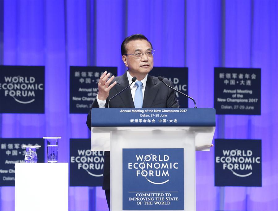 CHINA-DALIAN-LI KEQIANG-SUMMER DAVOS-OPENING (CN)